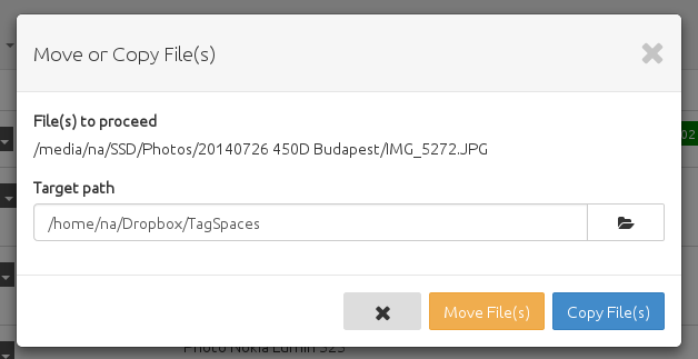 Here you will find, what are the new features and improvements in TagSpaces version 1.8.5